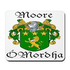 Moore In Irish & English Mousepad