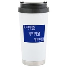 Unique Slogans Thermos Mug