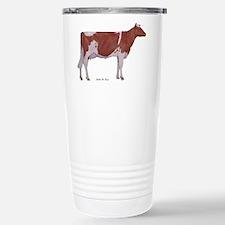 Golden Guernsey cow Stainless Steel Travel Mug