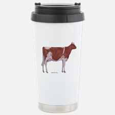 Golden Guernsey cow Travel Mug