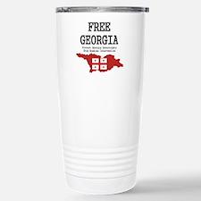 Free Georgia Stainless Steel Travel Mug