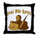 Dead Man Quest Throw Pillow