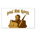 Dead Man Quest Rectangle Sticker