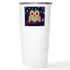 Midnight Owl highlight Travel Mug