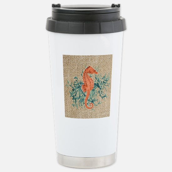 vintage french botanica Stainless Steel Travel Mug