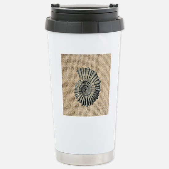 romantic seashell burla Stainless Steel Travel Mug