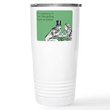 Drunk On Patios Travel Coffee Mug