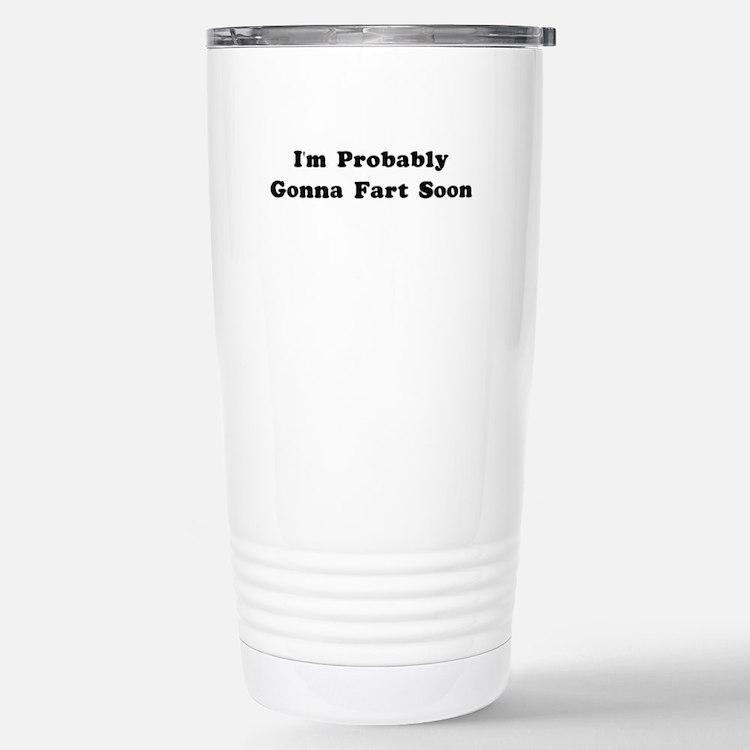 Cute Gross joke Travel Mug