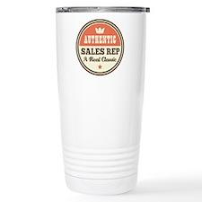 Sales Rep Vintage Thermos Mug