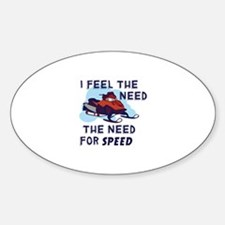 I Feel The Need The Need For Speed Decal