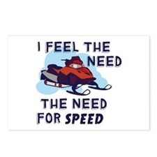 I Feel The Need The Need For Speed Postcards (Pack
