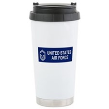 Unique Senior master sergeant Travel Mug