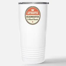 Headmaster Vintage Stainless Steel Travel Mug