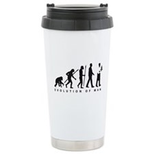 evolution of man waiter Travel Mug