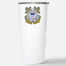 US Coast Guard Stainless Steel Travel Mug