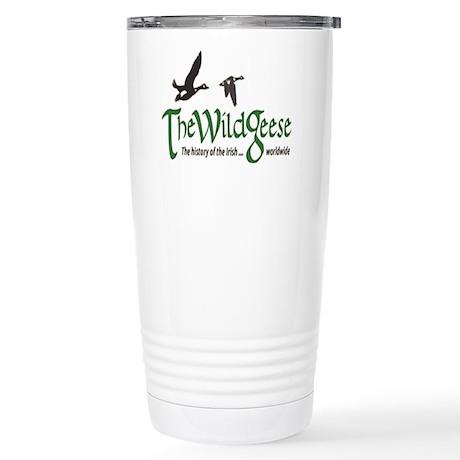 The Wild Geese Logo Stainless Steel Travel Mug