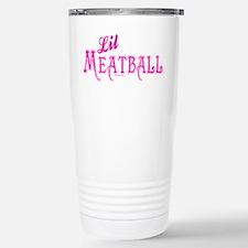 Lil Meatball Stainless Steel Travel Mug