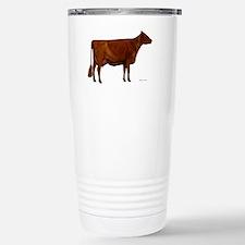 Milking Shorthorn Stainless Steel Travel Mug