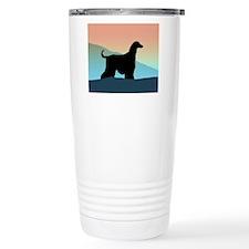 Afghan Hound Blue Mts Travel Coffee Mug