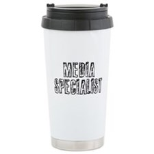 Media Specialist Travel Mug