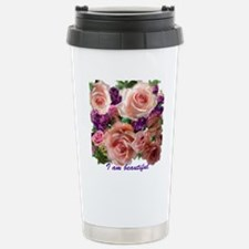 I am BEAUTIFUL Stainless Steel Travel Mug