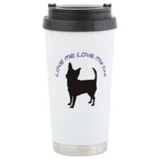 Love Me Love My Chi Travel Mug