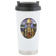 Stained Glass Dhanvanta Travel Mug