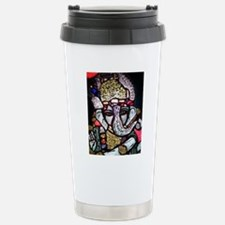 Ganesh Stained Glass Pa Stainless Steel Travel Mug
