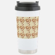 I Love Coffee Stainless Steel Travel Mug