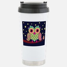 stars and owl Travel Mug