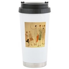 1920s Summer Fashion Travel Mug