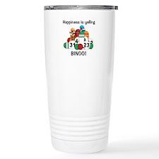 Cute Bingo happiness Travel Mug