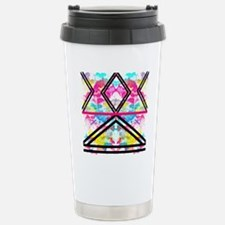 Trendy Fashion Stripes  Stainless Steel Travel Mug