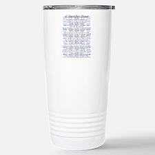 DISPATCHERS PRAYER Travel Mug