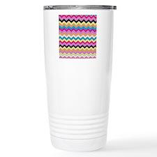 Chevrons  Pattern  Travel Mug