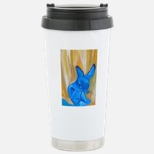 The Chameleon Cat Travel Mug