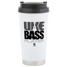 Uke Bass Player Travel Mug