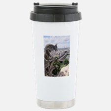 Gargoyle at Notre Dame Travel Mug