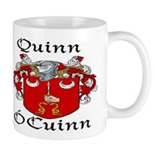 Quinn In Irish & English Mug