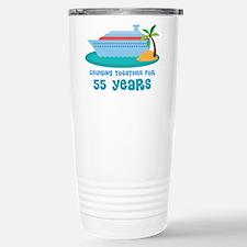 55th Anniversary Cruise Travel Mug