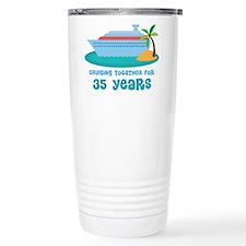 35th Anniversary Cruise Travel Coffee Mug
