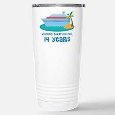 14th Anniversary Cruise Travel Mug