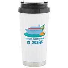 13th Anniversary Cruise Travel Coffee Mug