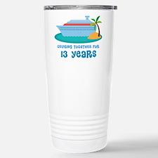 13th Anniversary Cruise Travel Mug