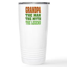Grandpa The Legend Travel Mug