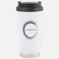 Karma, What goes around comes around Travel Mug