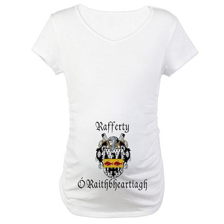 Rafferty In Irish & English Maternity T-Shirt