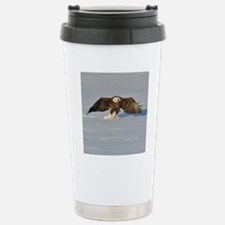 Eagle running Travel Mug