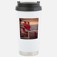 flags on a boat Travel Mug