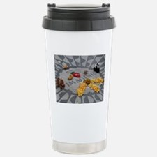 Imagine Strawberry Fields NYC Travel Mug